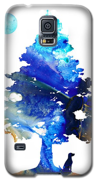 Dog Art - Contemplation - By Sharon Cummings Galaxy S5 Case