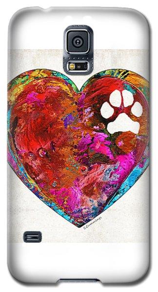Dog Art - Puppy Love 2 - Sharon Cummings Galaxy S5 Case
