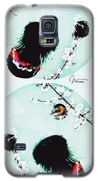 Dog Blossoms  Galaxy S5 Case
