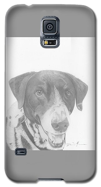 Dog Drawing Orion Galaxy S5 Case