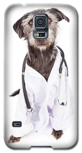 Dog Dressed As Veterinarian Galaxy S5 Case