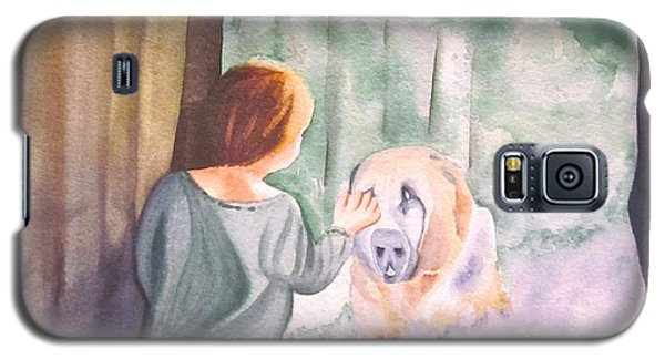 Dog In The Window Galaxy S5 Case