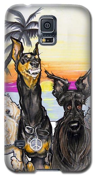 Dog Island Getaway Galaxy S5 Case