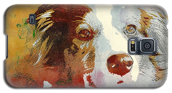 Dog Portrait Galaxy S5 Case