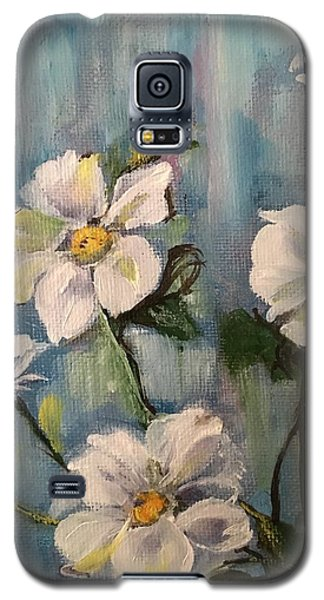 Galaxy S5 Case featuring the painting Dog Wood by Sharon Schultz