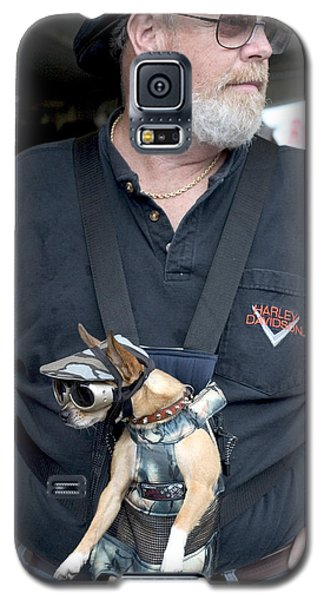 Doggie Biker Galaxy S5 Case by Carl Purcell