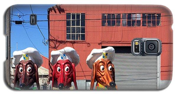 Galaxy S5 Case - Doggie Diner Heads by Julie Gebhardt