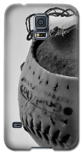 Softball Galaxy S5 Case - Dog's Ball by Bob Orsillo