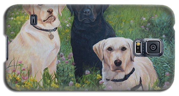 Dogs With Wings Galaxy S5 Case