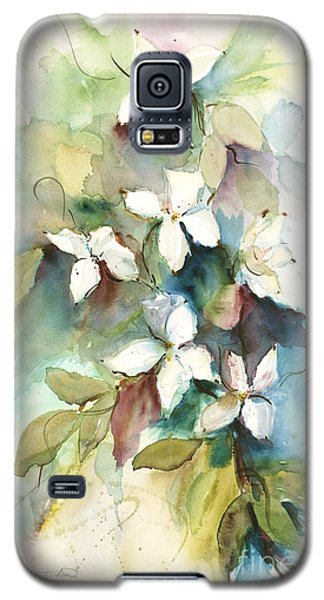Galaxy S5 Case featuring the painting Dogwood Branch by Sandra Strohschein