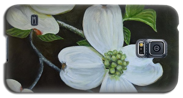 Galaxy S5 Case featuring the painting Dogwood Dream by Sandra Nardone