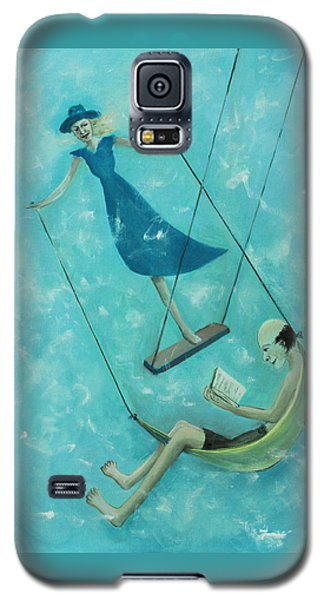 Doing The Swing Galaxy S5 Case