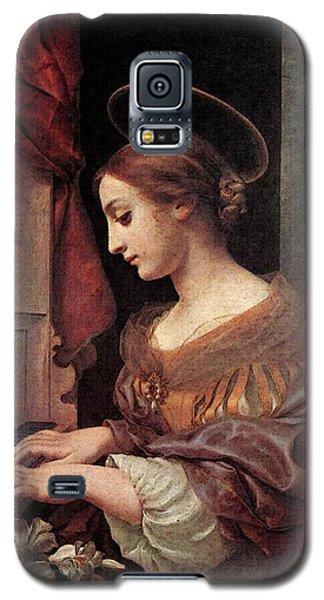 Dolci Carlo St Cecilia At The Organ Galaxy S5 Case by Carlo Dolci