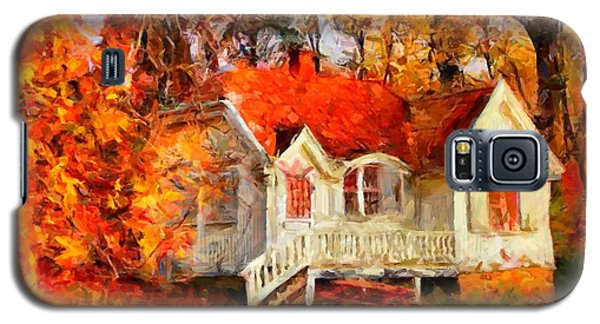 Doll House And Foliage Galaxy S5 Case