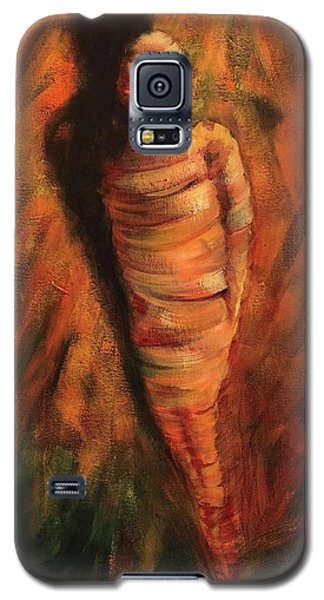 Galaxy S5 Case featuring the painting Doll by Randol Burns