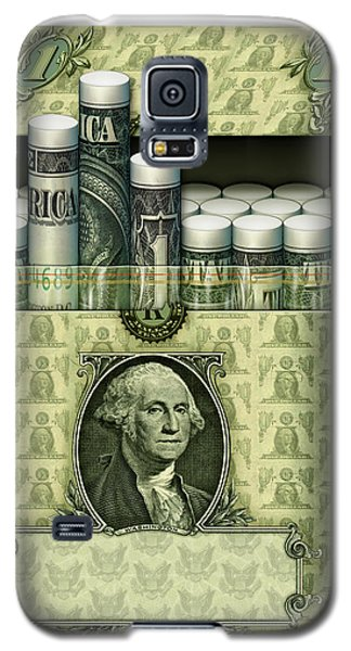 Dollar Cigarettes Galaxy S5 Case