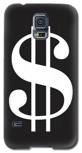 Dollar Sign - Poster Galaxy S5 Case