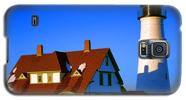 Galaxy S5 Case featuring the photograph Dollhouse Portland Head Light by Olivier Le Queinec