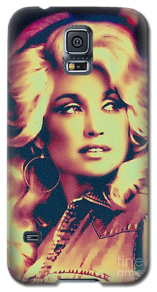 Dolly Parton - Vintage Painting Galaxy S5 Case