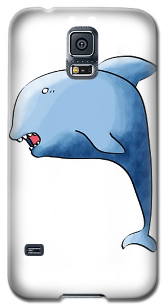 Dolphin Blue Galaxy S5 Case