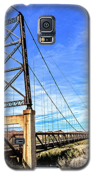 Galaxy S5 Case featuring the photograph Dome Bridge by Robert Bales