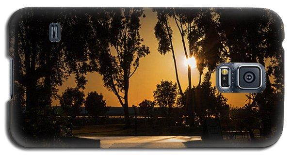 Dominguez Hills Sunset Galaxy S5 Case