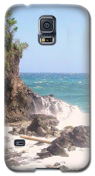 Galaxy S5 Case featuring the photograph Dominica North Atlantic Coast by Ian  MacDonald