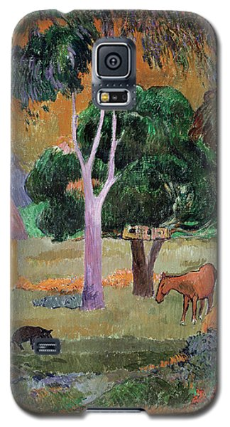 Dominican Landscape Galaxy S5 Case by Paul Gauguin