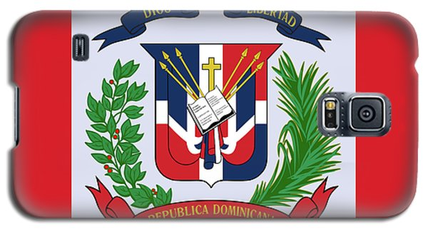 Dominican Republic Coat Of Arms Galaxy S5 Case by Movie Poster Prints