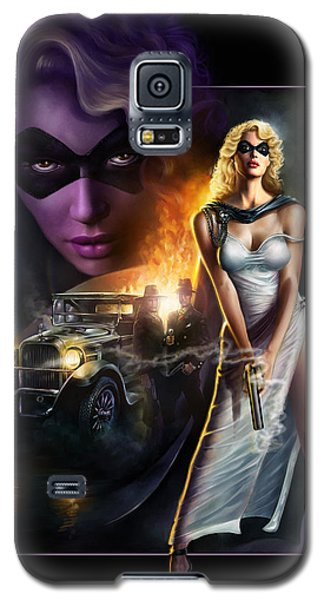 Domino Lady Galaxy S5 Case
