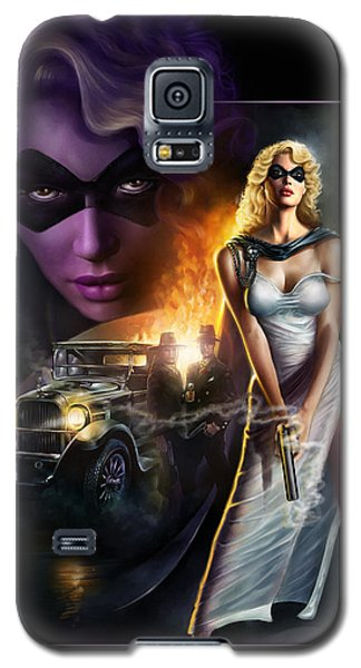 Domino Lady Galaxy S5 Case