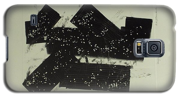 Galaxy S5 Case featuring the mixed media Dominos by Erika Chamberlin