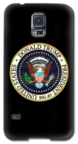 Donald Trump President Seal Galaxy S5 Case