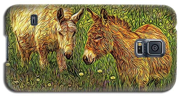 Donkey Confidential Galaxy S5 Case by Joel Bruce Wallach
