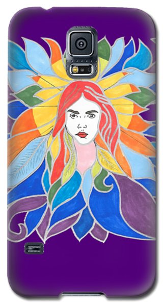 Donna Soul Portrait Galaxy S5 Case