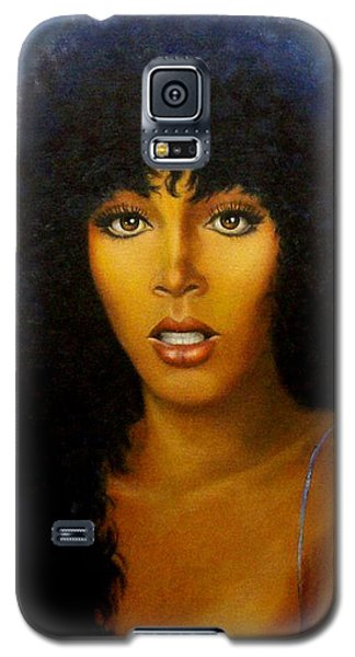 Donna Summers Galaxy S5 Case by Loxi Sibley