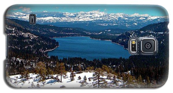 Donner Lake Sierra Nevadas Galaxy S5 Case