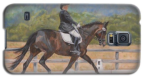 Galaxy S5 Case featuring the painting Donnerlittchen by Quwatha Valentine