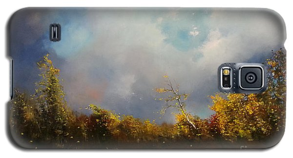 Dont Break Me Down Oil Painting Galaxy S5 Case