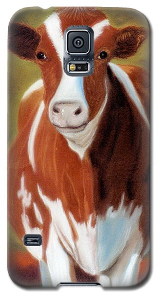 Galaxy S5 Case featuring the pastel Don't Call Me Bossy by Jan Amiss