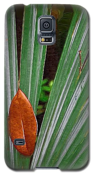Galaxy S5 Case featuring the photograph Don't Leaf by Donna Bentley