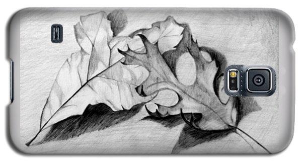 Don't Leaf Me Galaxy S5 Case by Jean Haynes