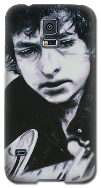 Galaxy S5 Case featuring the painting Dont Think Twice, Its Alright by Luis Ludzska