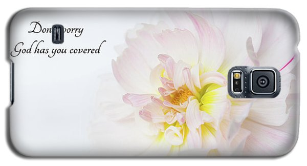 Galaxy S5 Case featuring the photograph Don't Worry by Mary Jo Allen