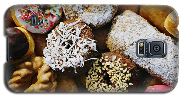 Galaxy S5 Case featuring the photograph Donuts by Vivian Krug Cotton