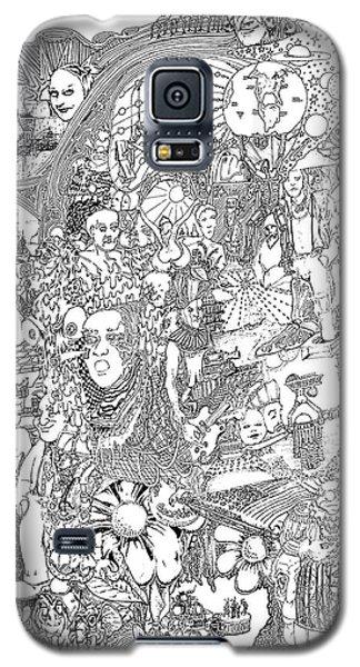 Doodle Art 1987 Galaxy S5 Case by Steve  Hester