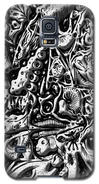 Doodle Emboss Galaxy S5 Case