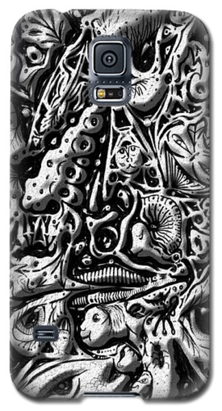 Galaxy S5 Case featuring the digital art Doodle Emboss by Darren Cannell
