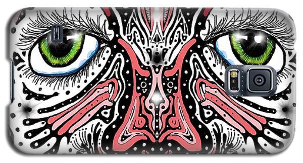 Doodle Face Galaxy S5 Case