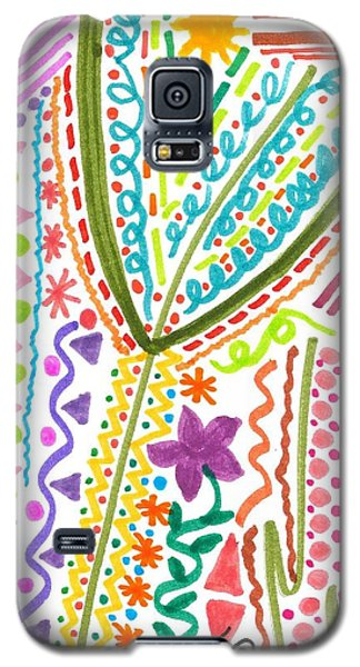 Doodles Gone Wild Galaxy S5 Case